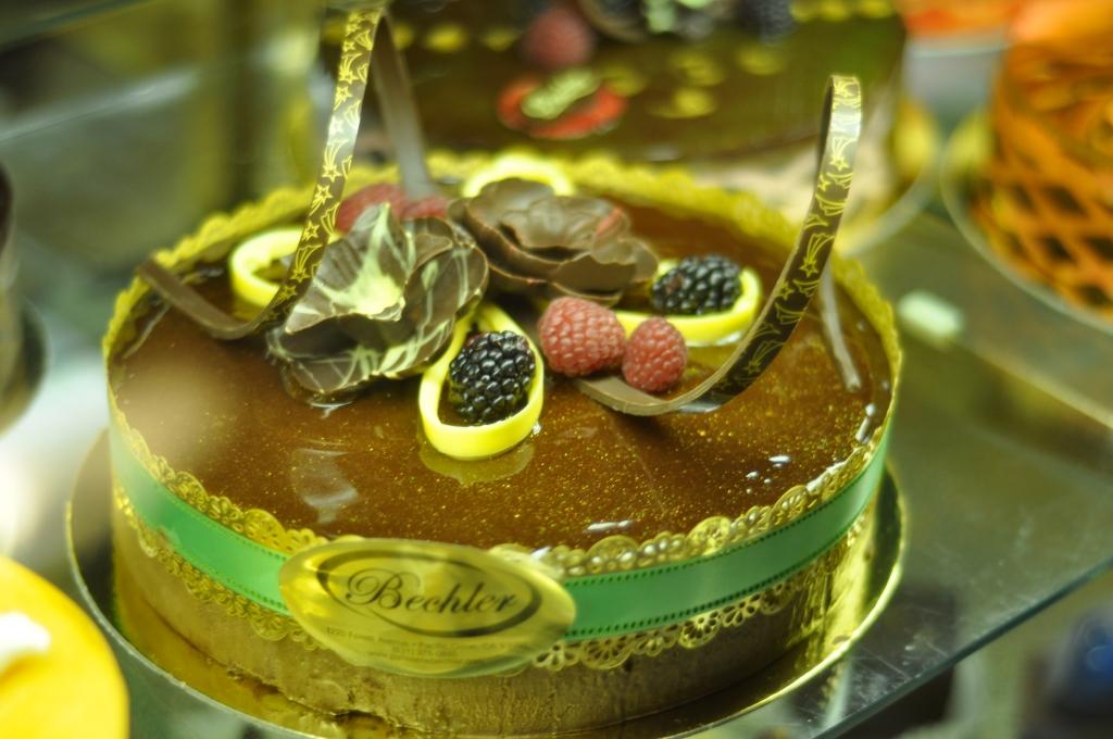 Patisserie Bechler Wedding Cake