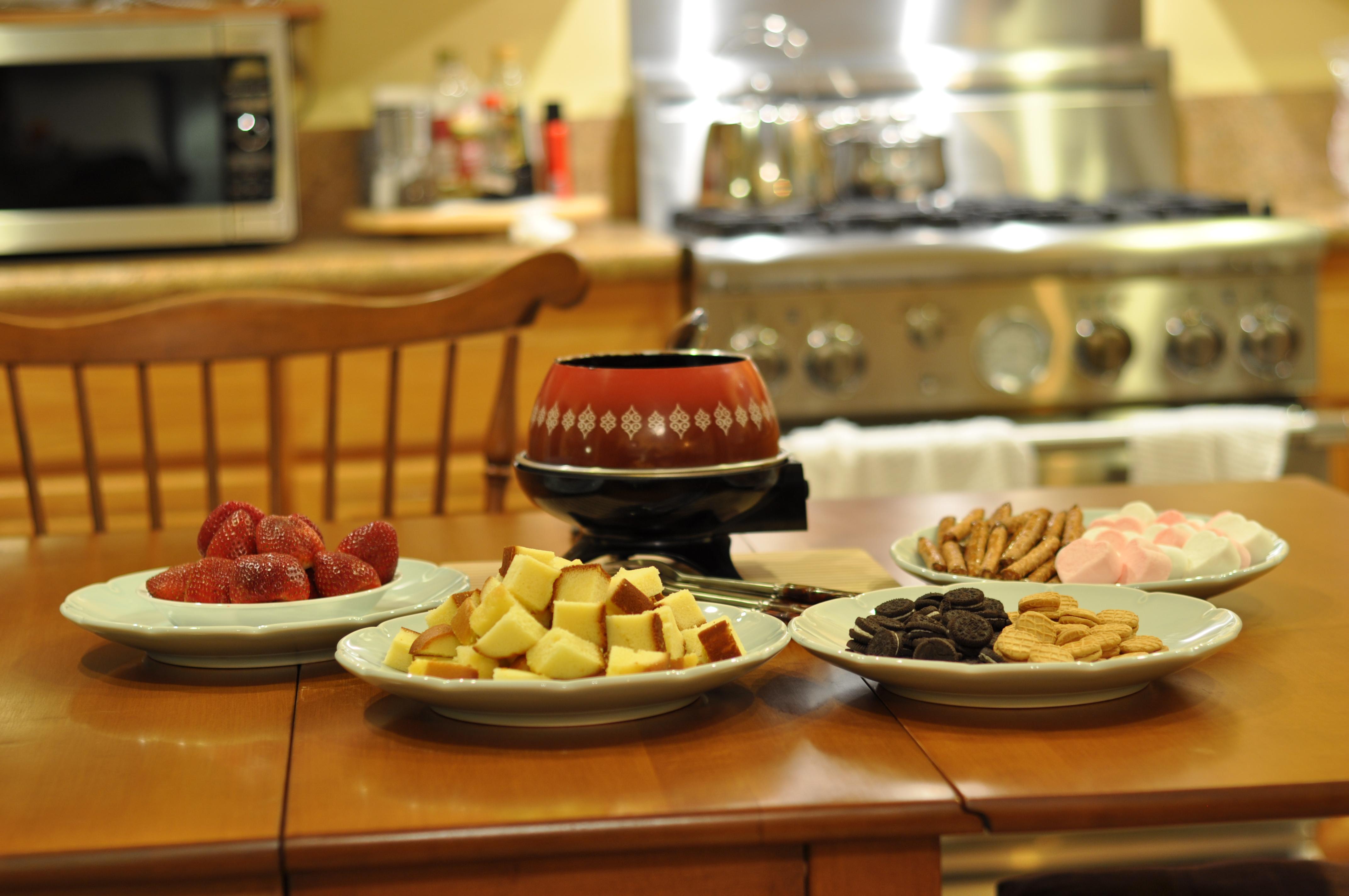 crockpot chocolate fondue recipe