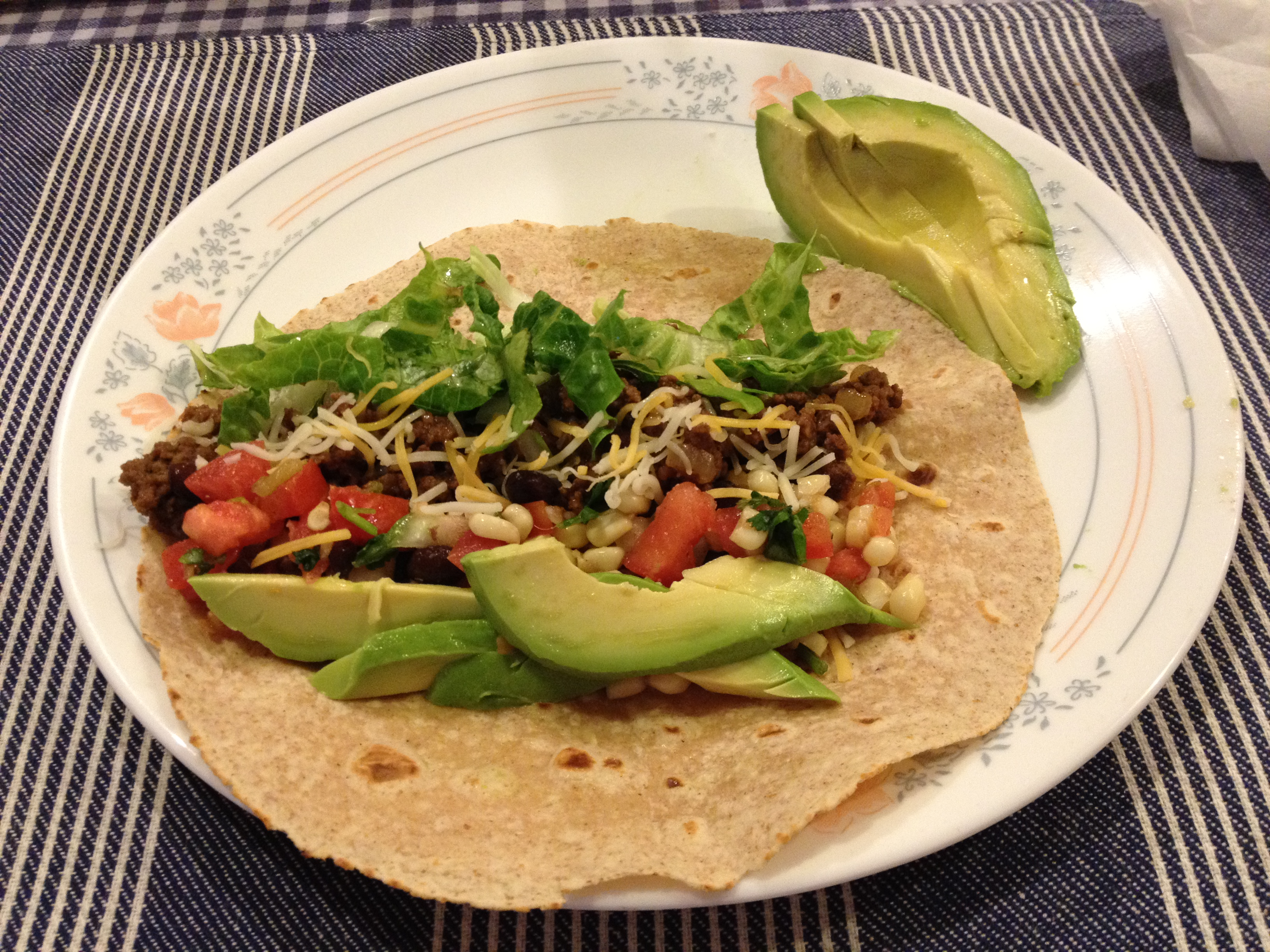 Black Bean Tacos With Corn Salsa Recipe — Dishmaps