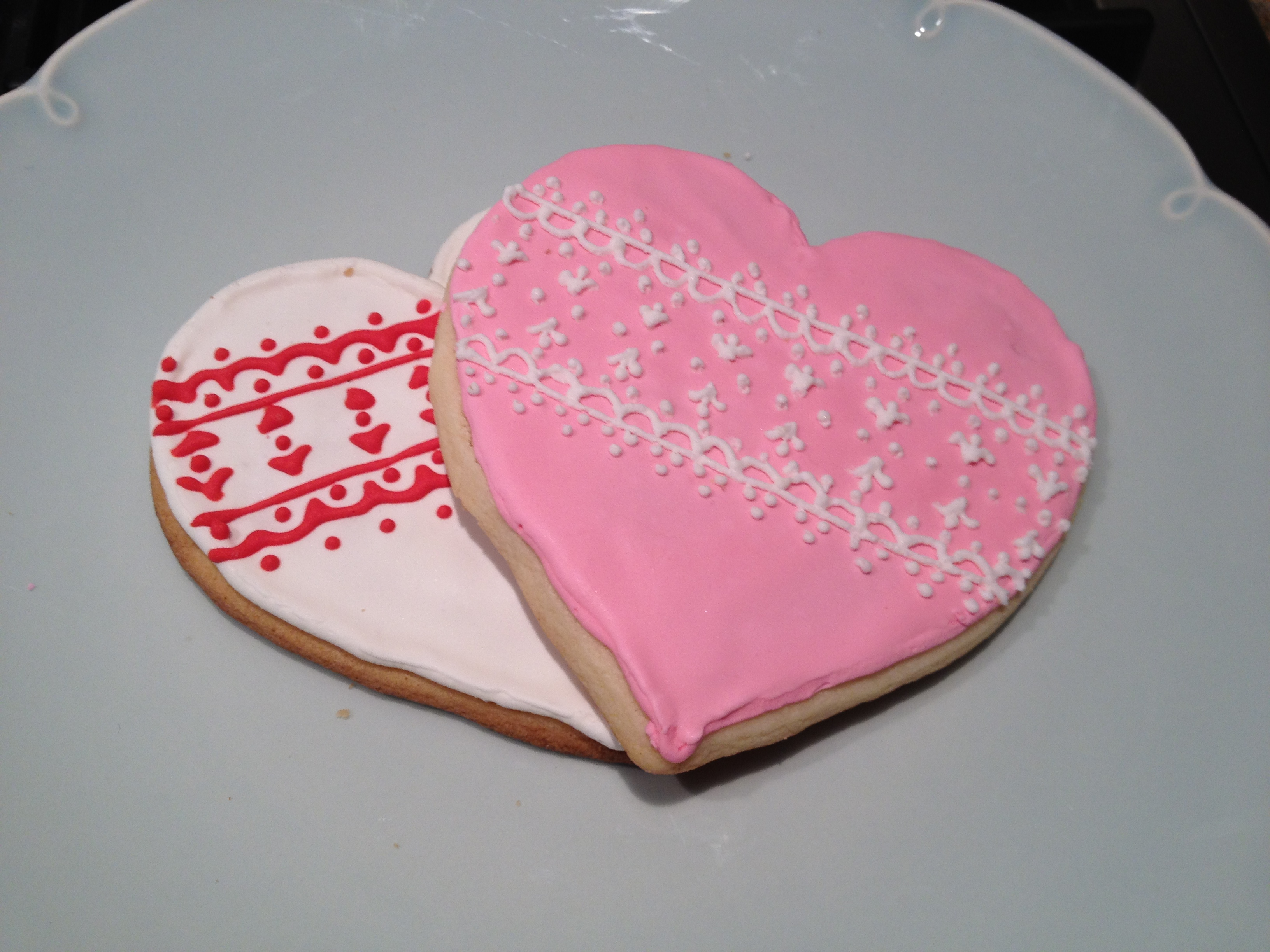 Pretty Little Sugar Cookies | The Dessert Spot