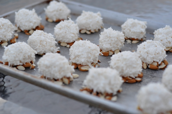 Almond_coconut_macaroons_Coconut_Dough